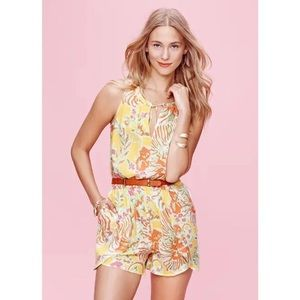 Lilly Pulitzer Happy Place Challis Romper